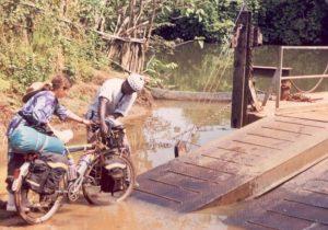 """No bridge but """"Let me help you."""""""