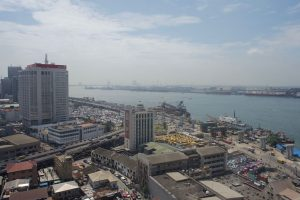 Lagos Island and harbour